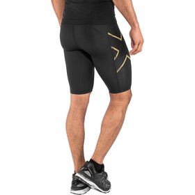2XU MCS Run Compression Shorts Hombre, black/gold reflective